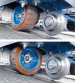 Гибридный тягач для вагонов E-MAXI